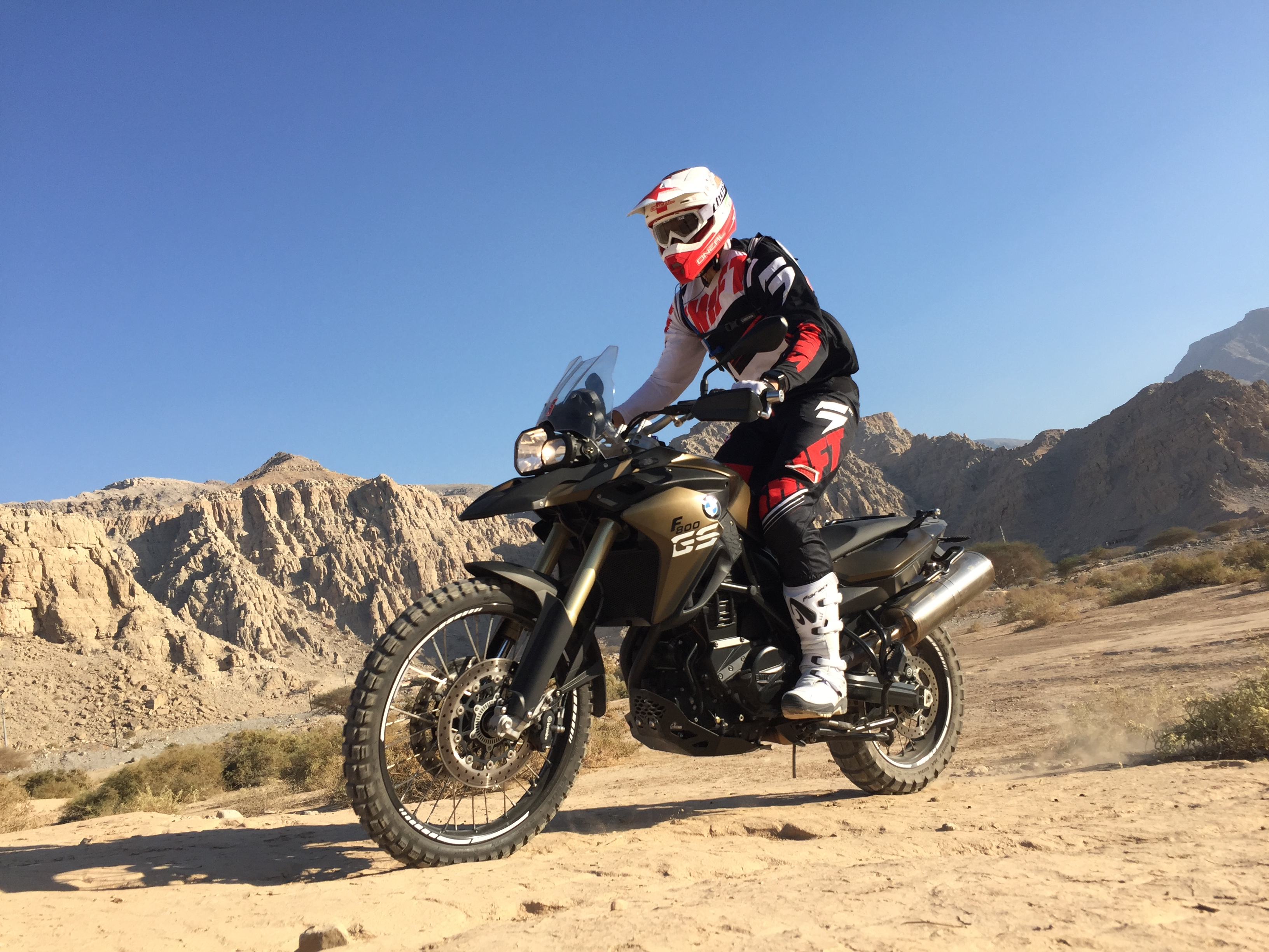 Motor cycle tour in Dubai